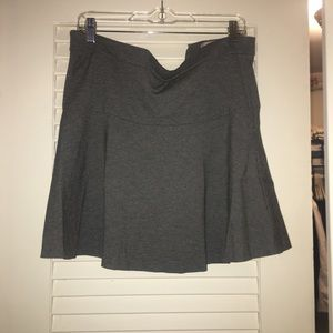 ONLY WORN TWICE! Grey skirt from banana republic